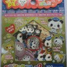 Kamio Police Panda Sticker Sack Kawaii