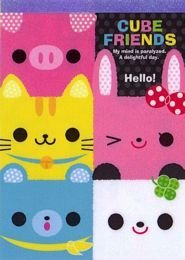 Kamio Japan Cutie Cube Friends Large Memo Kawaii