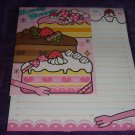 "Kamio Lovely Sweets ""Cake"" Letter Set Kawaii"