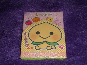 San-X Mikyan Bouya Orange Boy Mini Memo Kawaii