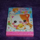 Q-Lia Ring Ring Kitty Mini Memo Pad Kawaii