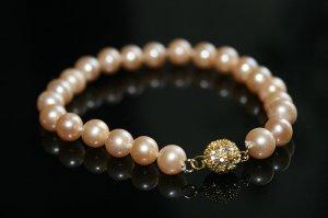 SALE!! - Genuine Pink Akoya Pearls Bracelet