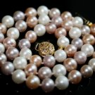 SALE!! - Genuine Multi-Color Akoya Pearls Necklace
