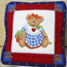 Handmade Quilt - cushion covers - Mama bear