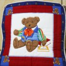 Handmade Quilt - cushion covers - Papa bears
