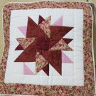 Handmade Quilt - cushion covers - Stars_PinkRed