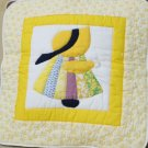 Handmade Quilt - cushion covers - Girl_Yellow