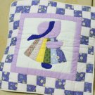 Handmade Quilt - cushion covers - Girl_Purple