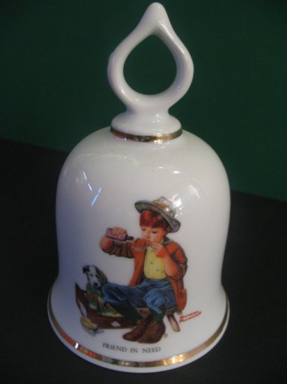 FRIEND IN NEED of Norman Rockwell Collection