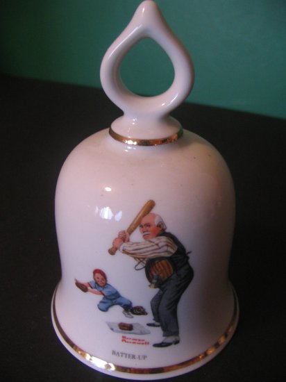 BATTER-UP of Norman Rockwell Collection