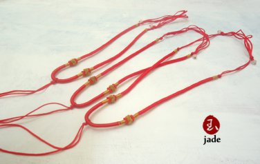 Chinese adjustable necklace cords strings Lot 3