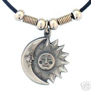 SUN AND MOON EARTH SPIRIT NECKLACE