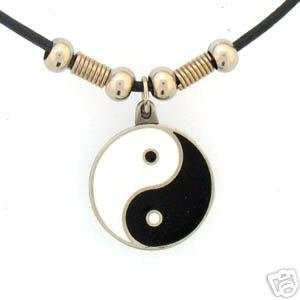YING YANG EARTH SPIRIT NECKLACE
