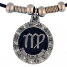 VIRGO ZODIAC SIGN PEWTER EARTH SPIRIT NECKLACE