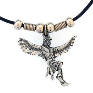 INDIAN DANCER EARTH SPIRIT NECKLACE
