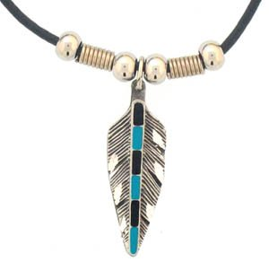 FEATHER EARTH SPIRIT NECKLACE