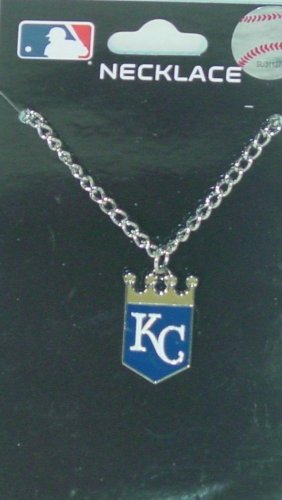 KANSAS CITY ROYALS MBL LOGO CHAIN NECKLACE