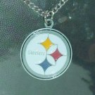 PITTSBURG STEELERS NFL LOGO LICENSED JEWELRY 22 INCH CHAIN NECKLACE ADULT MULTI