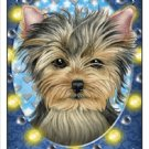 CRAZY ABOUT YORKIES!  MAGNETIC 3D BOOKMARK