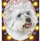 CRAZY ABOUT WESTIES!  MAGNETIC 3D BOOKMARK