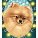 CRAZY ABOUT POMERANIANS!  MAGNETIC 3D BOOKMARK