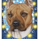 CRAZY ABOUT PITBULLS!  MAGNETIC 3D BOOKMARK