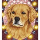 CRAZY ABOUT GOLDEN RETRIEVERS! MAGNETIC 3D BOOKMARK