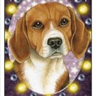 CRAZY ABOUT BEAGLES!  MAGNETIC 3D BOOKMARK