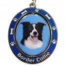 BORDER COLLIE SPINNING DOG KEY CHAIN
