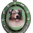 AUSTRALIAN SHEPHERD SPINNING DOG KEY CHAIN