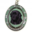 NEWFOUNDLAND SPINNING DOG KEY CHAIN