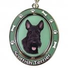 SCOTTISH TERRIER SPINNING DOG KEY CHAIN