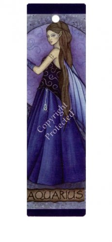 Aquarius bookmark, BJG-03 Aqu