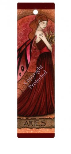Aries Faery bookmark, BJG-03 Ari