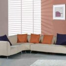 Tan Fabric Sectional