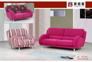 Pink Retro Sofa Set