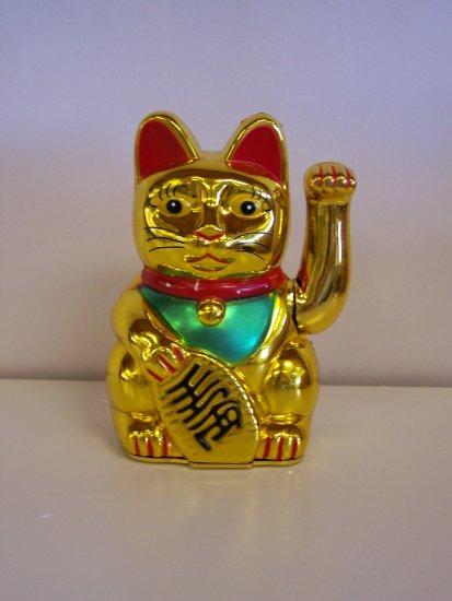mini golden kitty