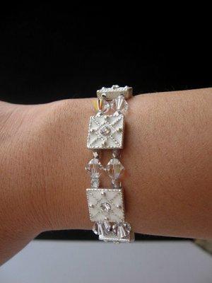 Swarovski Crystal Enamel Stretch Bracelet