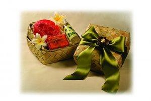 Plumeria Tropical Treat Gift Set