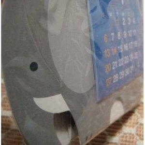 2008 Elephant and Bird Calendar