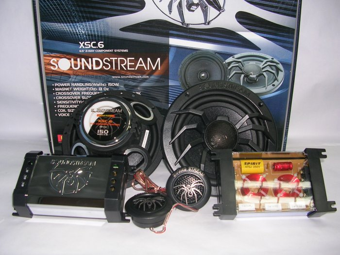SOUNDSTREAM XSC.6 COMPONENT SET