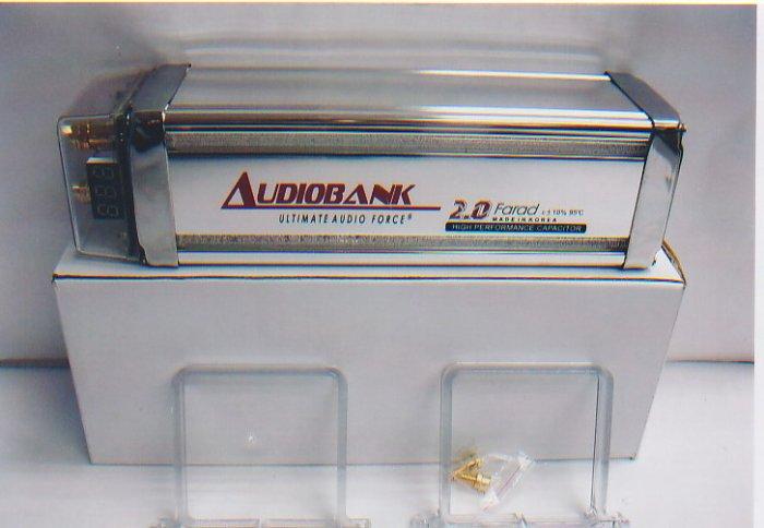 Audio Bank Capacitor