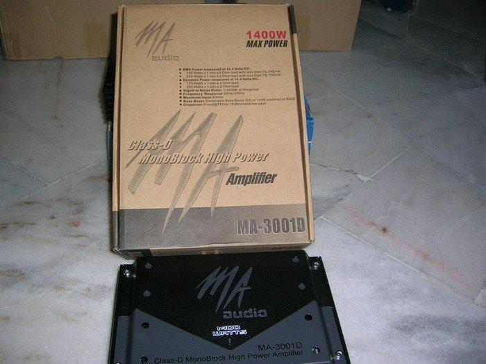 Original MA audio MA-3001D Monoblock
