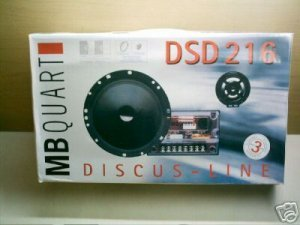 MB Quart DSD-216 2-Way Component Speaker