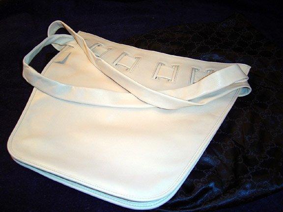 Gucci Biege Lambskin Leather Shoulder Bag
