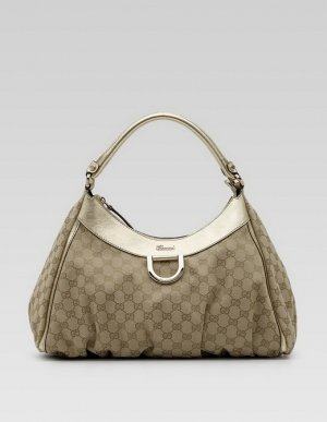Gucci 'D Gold' Large Hobo Handbag