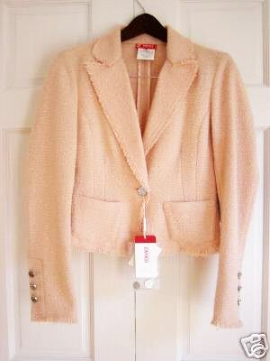 Versace Peach Jacket