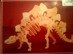 Stegosaurus Wood Dinosaur Kit