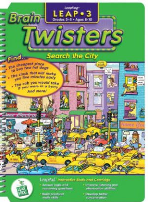 LeapPad: Leap 3 - Brain Twisters - Search the City