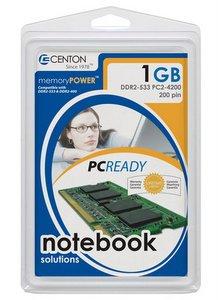Centon 512MB SODIMM (DDR2-533 PC2-4200 200 pin)
